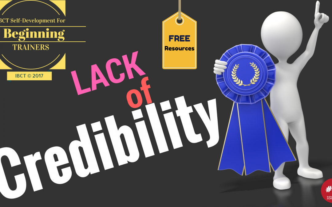 How Trainers Deal with Lack of Credibility