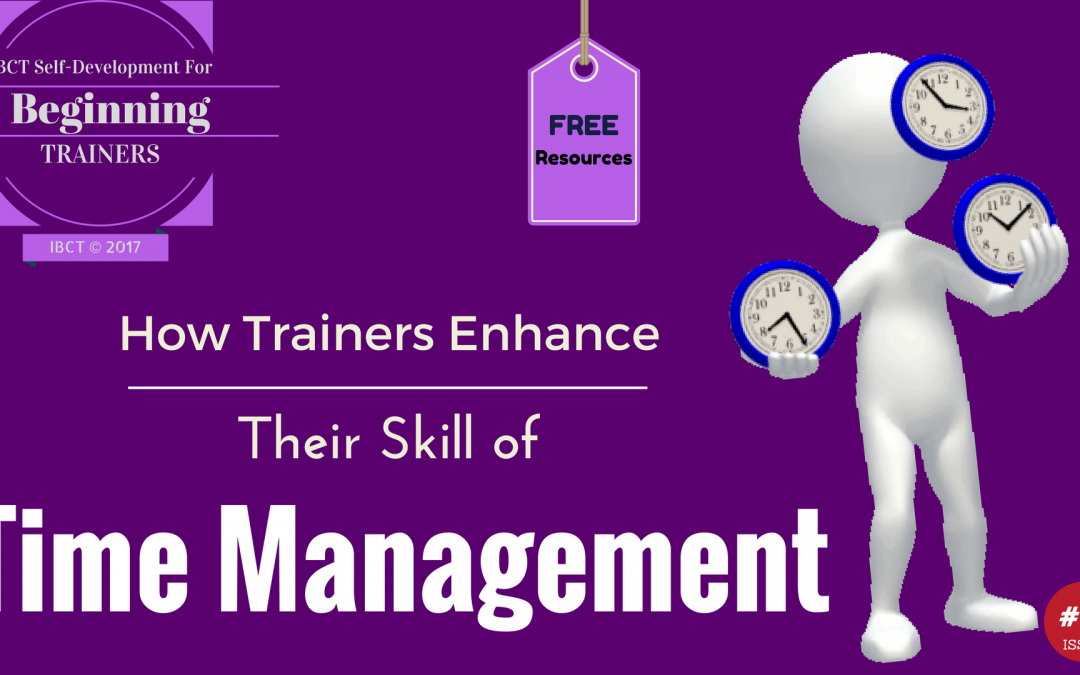 How Trainers Enhance their Time Management