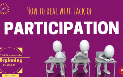 How Trainers Encourage Participation